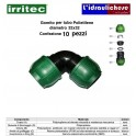 Gomito IRRITEC 32x32 Confezione 10 Pezzi