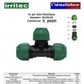 Te IRRITEC 32x32x32 Confezione 5 Pezzi