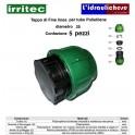 Tappo di fine linea IRRITEC Connect diametro 25 Confezione 5 Pezzi