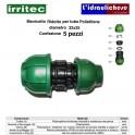 Manicotto IRRITEC 32x25 Confezione 5 Pezzi