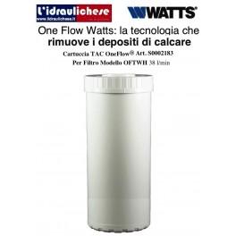 Cartuccia TAC OneFlow® per il modello OFTWH da 38 litri minuto (durata 2 anni)