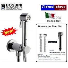 Rubinetto D'Arresto con doccetta Bossini Paloma Brass