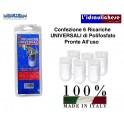 Polifosfato UNIVERSALE Confezione 6 ricariche da 80 gr. Locatelli  Prodotto Italiano