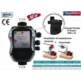PRESSOFLUSSOSTATO HYDROSTART MATIC 1.1/4 220V MAX.HP.2
