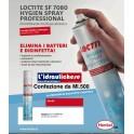 LOCTITE SF 7080 HYGIEN SPRAY Disinfettante PMC per condizionatori DA ML.500