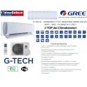 GREE G-TECH - MONOSPLIT DC INVERTER 12000 BTU/h - WIFI - R32 - CLASSE A+++/A++