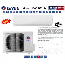 GREE MONOSPLIT DC INVERTER MUSE 12000 BTU/h - R32 -