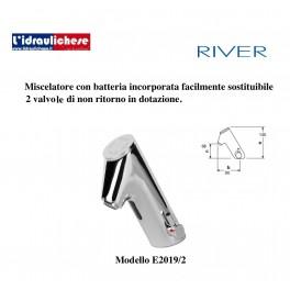 RIVER RUBINETTO MISCELATORE  ELETTRONICO E2019/2