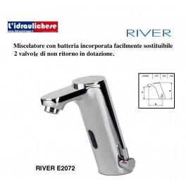 RIVER RUBINETTO MISCELATORE  ELETTRONICO E2072
