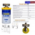 BWT AC002100 Combi Care Dosatore di Polifosfato Inibitore Scala, Bianco 3/4