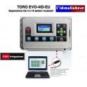 PROGRAMMATORE Di ultima generazione TORO EVO-4ID-EU Espansione Da 4 a 16 settori modulari