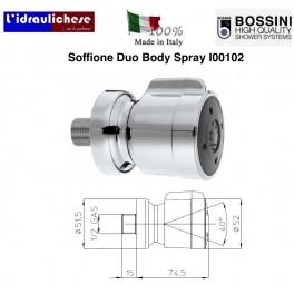 SOFFIONE DOCCIA BOSSINI IN OTTONE PESANTE I00102