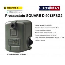 PRESSOSTATO ORIGINALE SQUARE D 9013 FSG2 PER AUTOCLAVE ELETTROPOMPA POMPA